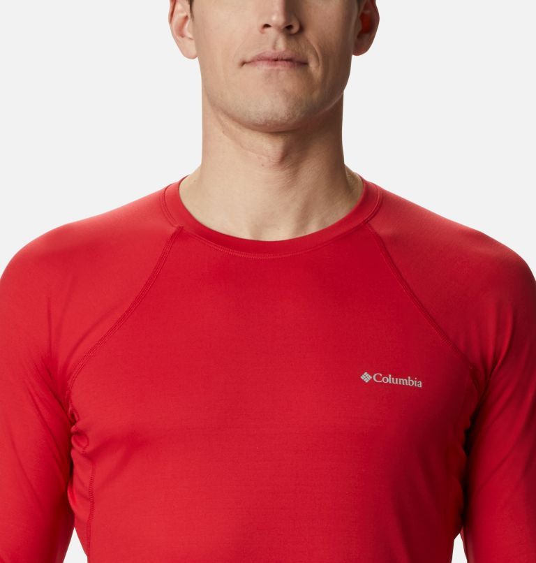 Heavyweight Stretch Long Sleeve Top | 613 | XL Men's Heavyweight Stretch Long Sleeve Shirt, Mountain Red, a2