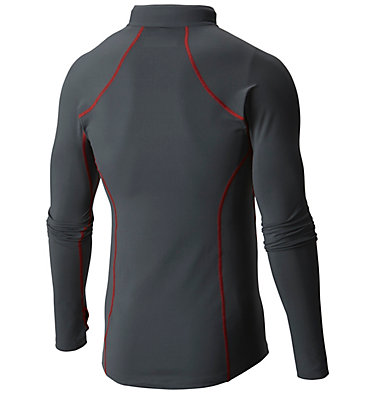 Camiseta con media cremallera Midweight para hombre , back