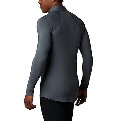 Sous-vêtement technique à demi-zip et manches longues Midweight Stretch Homme Midweight Stretch Long Sleeve  | 056 | L, Graphite, back