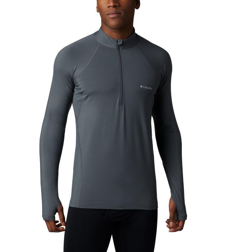 Camiseta con media cremallera Midweight para hombre Camiseta con media cremallera Midweight para hombre, front