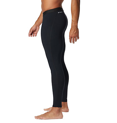 Men's Midweight Stretch Tight - Big Midweight Stretch Tight | 010 | 2X, Black, back
