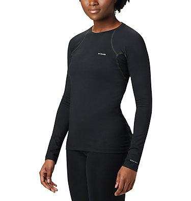 Haut à manches longues très épais extensible pour femme Heavyweight Stretch Long Sleeve Top   427   L, Black, front
