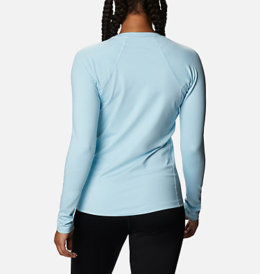 Women's Heavyweight Stretch Long Sleeve Top Heavyweight Stretch Long Sleeve Top | 427 | L, Sky Blue, back
