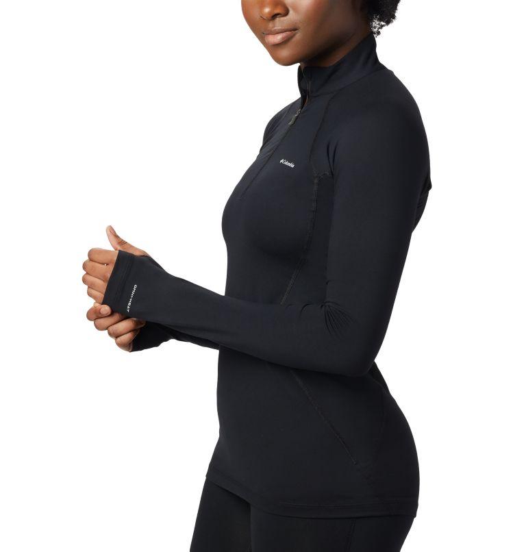 Women's Midweight Stretch Baselayer Long Sleeve Half Zip Shirt Women's Midweight Stretch Baselayer Long Sleeve Half Zip Shirt, a1