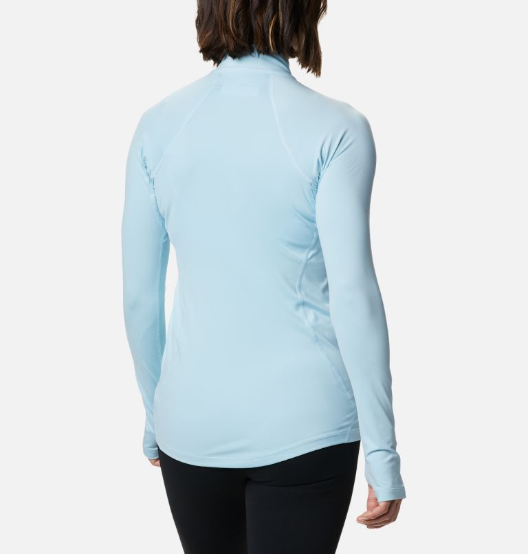 Women's Midweight Stretch Baselayer Long Sleeve Half Zip Shirt Women's Midweight Stretch Baselayer Long Sleeve Half Zip Shirt, back