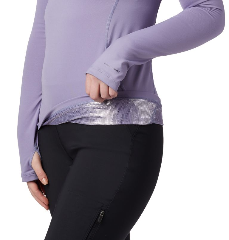 Women's Midweight Stretch Baselayer Long Sleeve Half Zip Shirt Women's Midweight Stretch Baselayer Long Sleeve Half Zip Shirt, a1