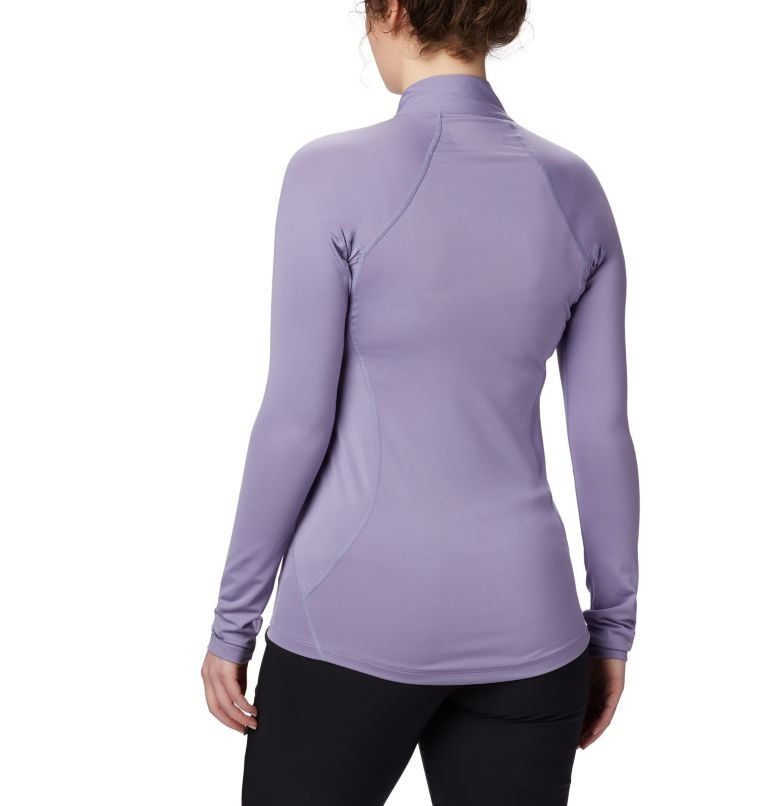Midweight Stretch Long Sleeve Half Zip da donna  Midweight Stretch Long Sleeve Half Zip da donna, back