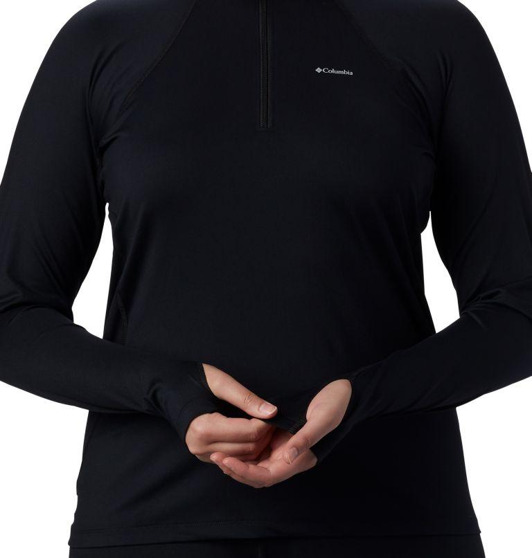 Women's Midweight Stretch Long Sleeve Half Zip - Plus Size Women's Midweight Stretch Long Sleeve Half Zip - Plus Size, a4