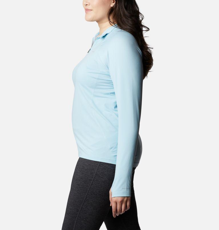 Women's Midweight Stretch Long Sleeve Half Zip - Plus Size Women's Midweight Stretch Long Sleeve Half Zip - Plus Size, a1
