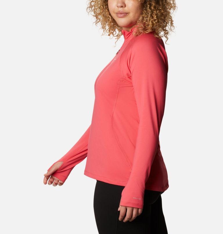 Chandail à manches longues avec demi-fermeture éclair en tissu poids moyen extensible pour femme - Grandes tailles Chandail à manches longues avec demi-fermeture éclair en tissu poids moyen extensible pour femme - Grandes tailles, a1
