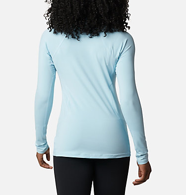 Camiseta de manga larga Midweight para mujer Midweight Stretch Long Sleeve  | 548 | L, Sky Blue, back