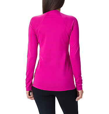 Midweight Langarmoberteil aus Stretchmaterial für Damen Midweight Stretch Long Sleeve  | 548 | L, Fuchsia, back