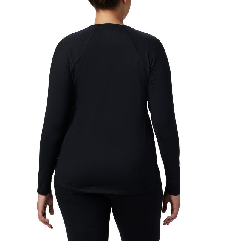 Women's Midweight Stretch Long Sleeve Shirt - Plus Size Women's Midweight Stretch Long Sleeve Shirt - Plus Size, back