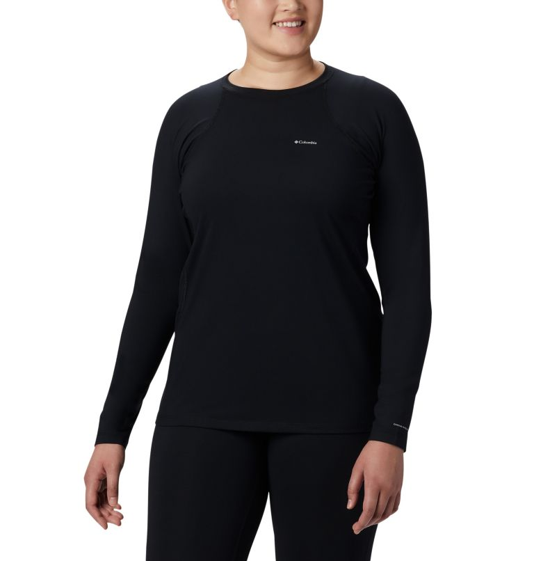Women's Midweight Stretch Long Sleeve Shirt - Plus Size Women's Midweight Stretch Long Sleeve Shirt - Plus Size, front