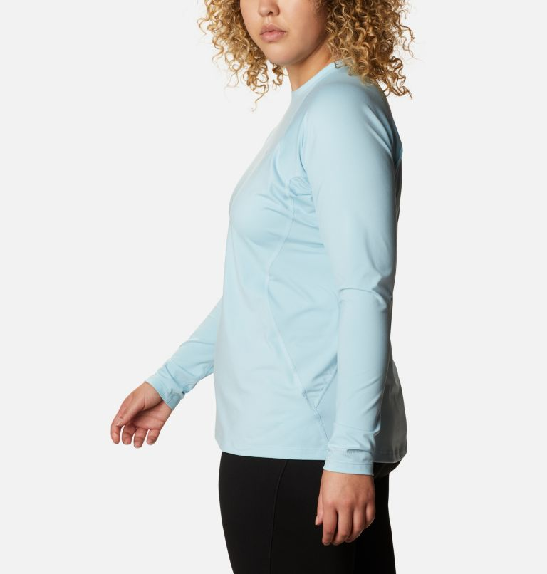 Women's Midweight Stretch Long Sleeve Shirt - Plus Size Women's Midweight Stretch Long Sleeve Shirt - Plus Size, a1
