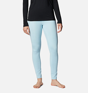 Women's Midweight Stretch Baselayer Tight Midweight Stretch Tight | 010 | L, Sky Blue, front