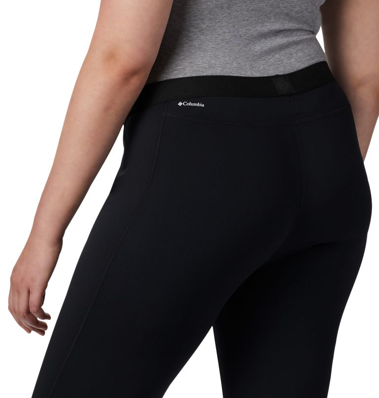Women's Midweight Stretch Baselayer Tights - Plus Size Women's Midweight Stretch Baselayer Tights - Plus Size, a1