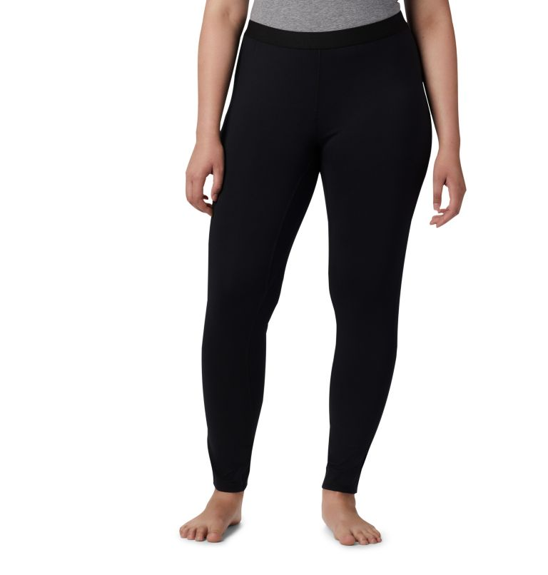 Women's Midweight Stretch Baselayer Tights - Plus Size Women's Midweight Stretch Baselayer Tights - Plus Size, front