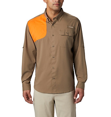Men's PHG Blood and Guts™ Shooting Shirt Blood and Guts™ Shooting Shirt | 903 | L, Flax, front
