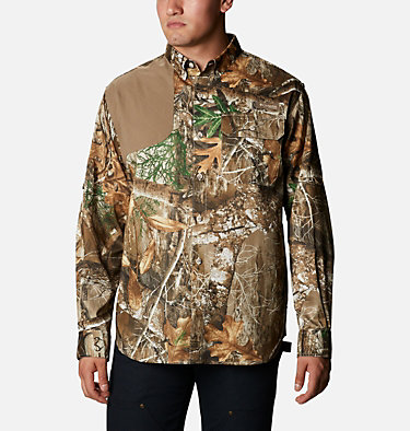 Men's PHG Blood and Guts™ Shooting Shirt Blood and Guts™ Shooting Shirt | 903 | L, RT Edge, Flax, front
