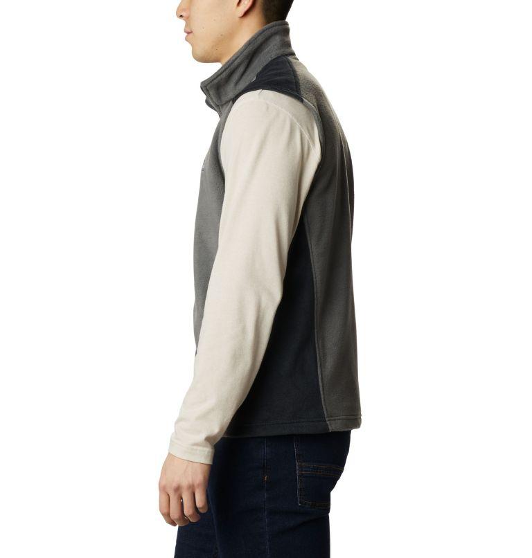 Steens Mountain™ Vest | 028 | S Men's Steens Mountain™ Fleece Vest, Grill, Black, a1