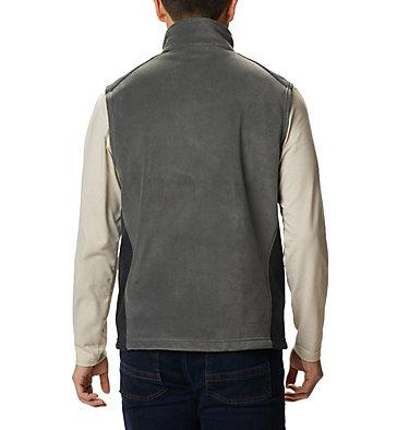 Men's Steens Mountain™ Fleece Vest Steens Mountain™ Vest   397   M, Grill, Black, back