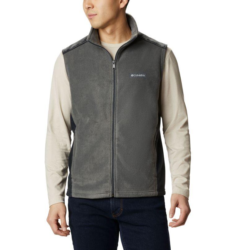 Steens Mountain™ Vest | 028 | S Men's Steens Mountain™ Fleece Vest, Grill, Black, front