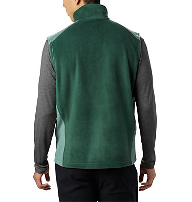 Men's Steens Mountain™ Fleece Vest Steens Mountain™ Vest | 397 | M, Rain Forest, Thyme Green, back
