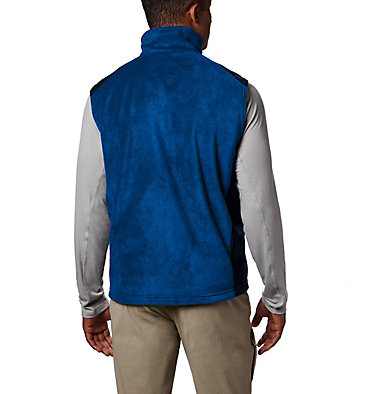 Men's Steens Mountain™ Fleece Vest Steens Mountain™ Vest | 397 | M, Azul, Collegiate Navy, back