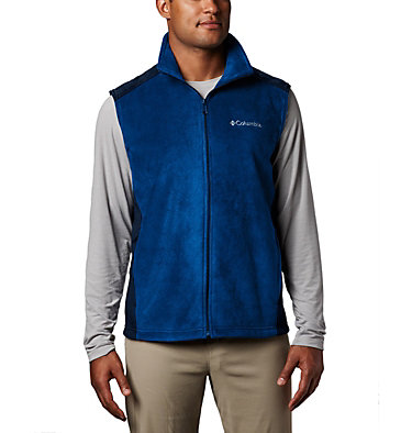 Men's Steens Mountain™ Fleece Vest Steens Mountain™ Vest | 397 | M, Azul, Collegiate Navy, front