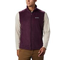 Columbia Men's Steens Mountain Fleece Vest (Black Cherry)