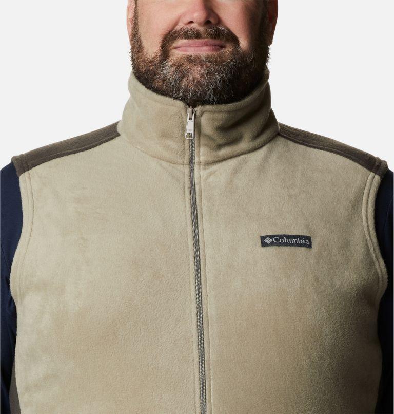 Steens Mountain™ Vest | 221 | 1X Men's Steens Mountain™ Fleece Vest - Big, Tusk, Buffalo, a2