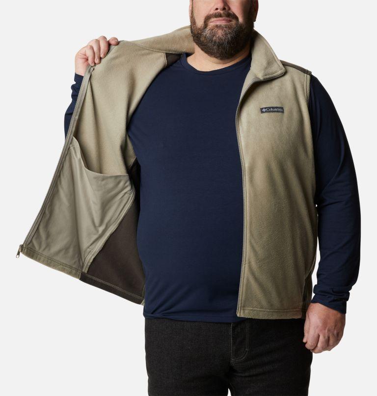 Steens Mountain™ Vest | 221 | 1X Men's Steens Mountain™ Fleece Vest - Big, Tusk, Buffalo, a3
