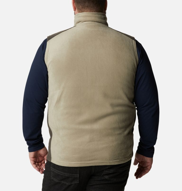 Steens Mountain™ Vest | 221 | 1X Men's Steens Mountain™ Fleece Vest - Big, Tusk, Buffalo, back