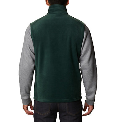 Men's Steens Mountain™ Fleece Vest - Big Steens Mountain™ Vest | 370 | 4X, Spruce, back