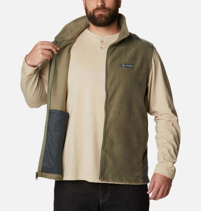 Men's Steens Mountain™ Fleece Vest - Big Men's Steens Mountain™ Fleece Vest - Big, a3
