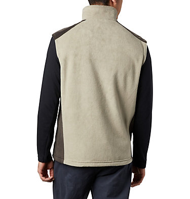 Men's Steens Mountain™ Fleece Vest - Tall Steens Mountain™ Vest | 613 | 5XT, Tusk, Buffalo, back