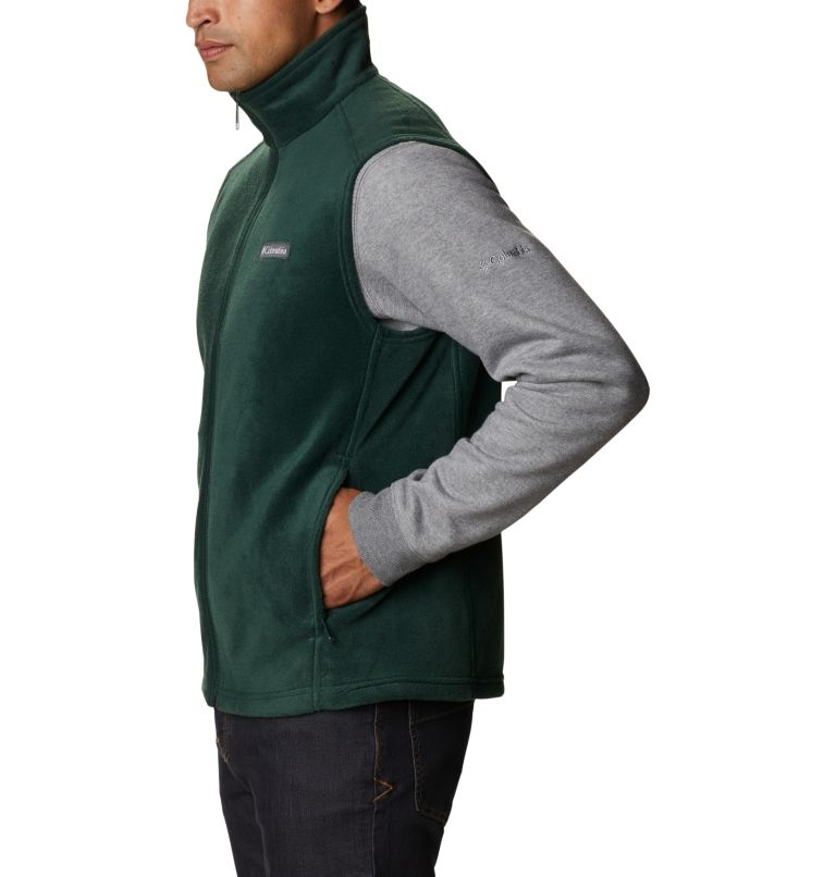Steens Mountain™ Vest | 370 | 5XT Men's Steens Mountain™ Fleece Vest - Tall, Spruce, a1