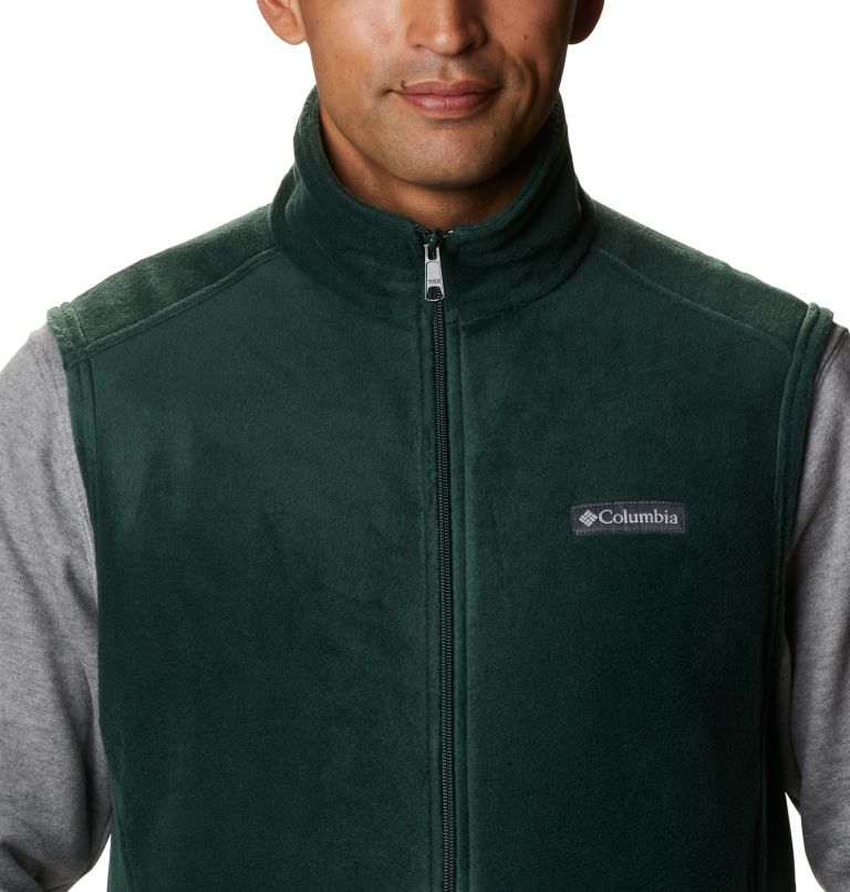 Steens Mountain™ Vest | 370 | 5XT Men's Steens Mountain™ Fleece Vest - Tall, Spruce, a2
