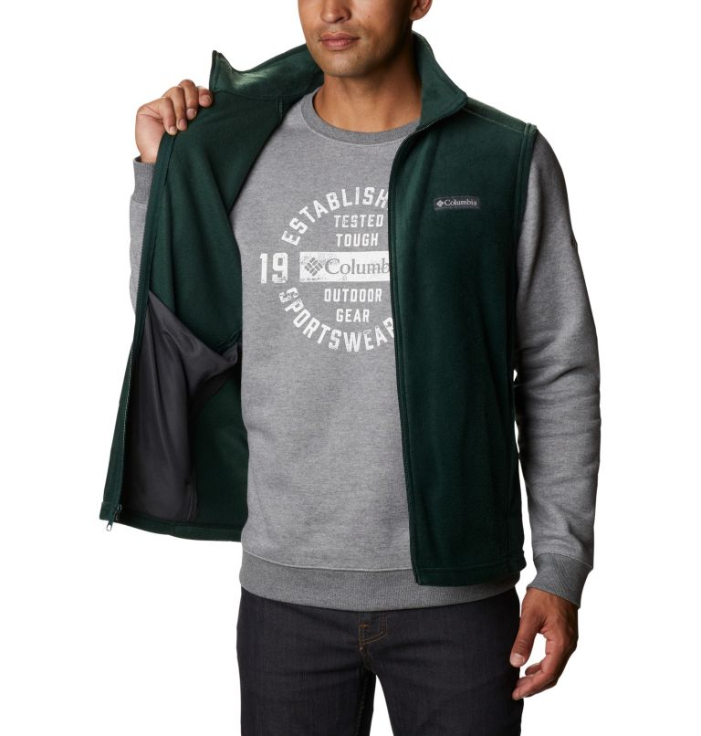 Steens Mountain™ Vest | 370 | 5XT Men's Steens Mountain™ Fleece Vest - Tall, Spruce, a3