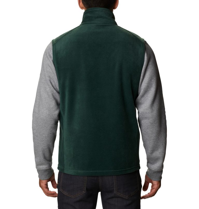 Steens Mountain™ Vest | 370 | LT Men's Steens Mountain™ Fleece Vest - Tall, Spruce, back