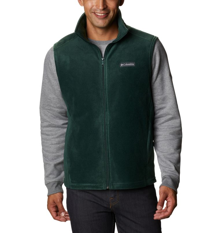 Steens Mountain™ Vest | 370 | LT Men's Steens Mountain™ Fleece Vest - Tall, Spruce, front