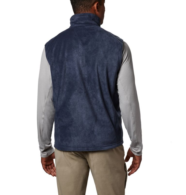 Steens Mountain™ Vest | 464 | LT Men's Steens Mountain™ Fleece Vest - Tall, Collegiate Navy, back