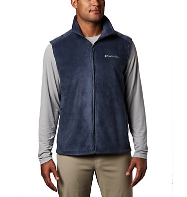 Men's Steens Mountain™ Fleece Vest - Tall Steens Mountain™ Vest | 613 | 5XT, Collegiate Navy, front