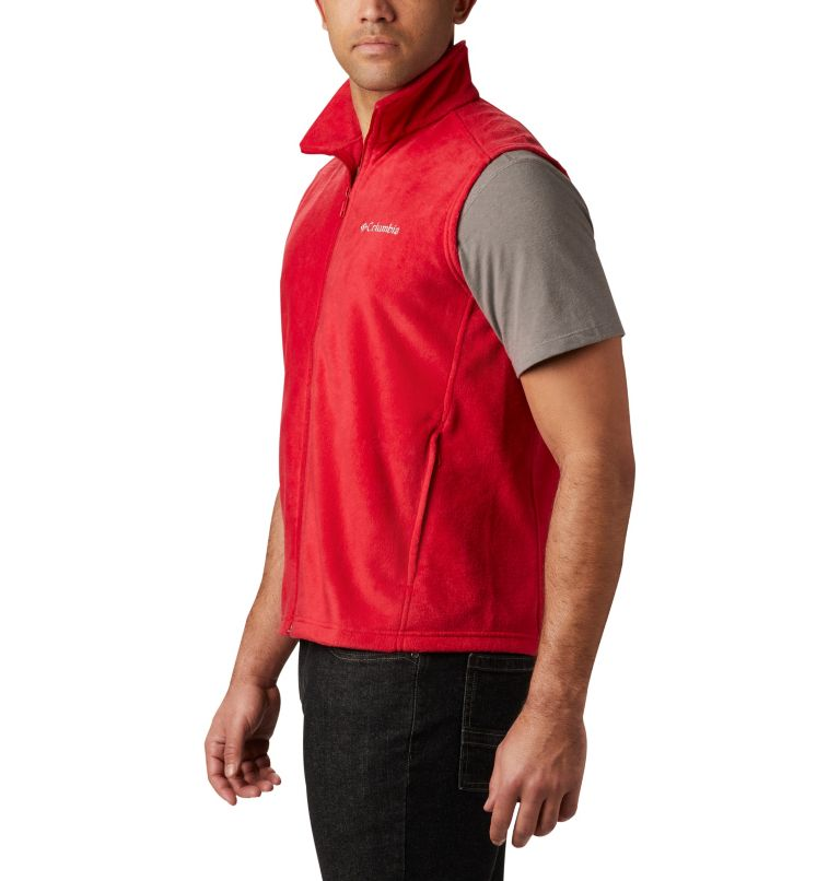 Steens Mountain™ Vest | 613 | LT Men's Steens Mountain™ Fleece Vest - Tall, Mountain Red, a3
