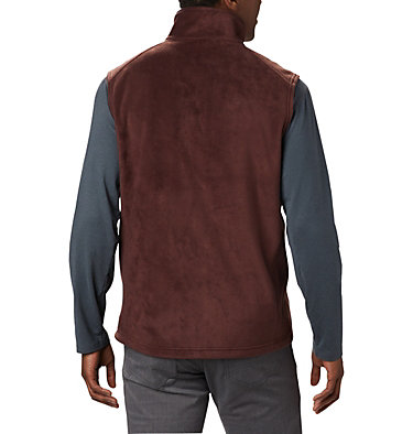 Men's Steens Mountain™ Fleece Vest - Tall Steens Mountain™ Vest | 613 | 5XT, Red Lodge, back