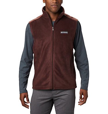 Men's Steens Mountain™ Fleece Vest - Tall Steens Mountain™ Vest | 613 | 5XT, Red Lodge, front