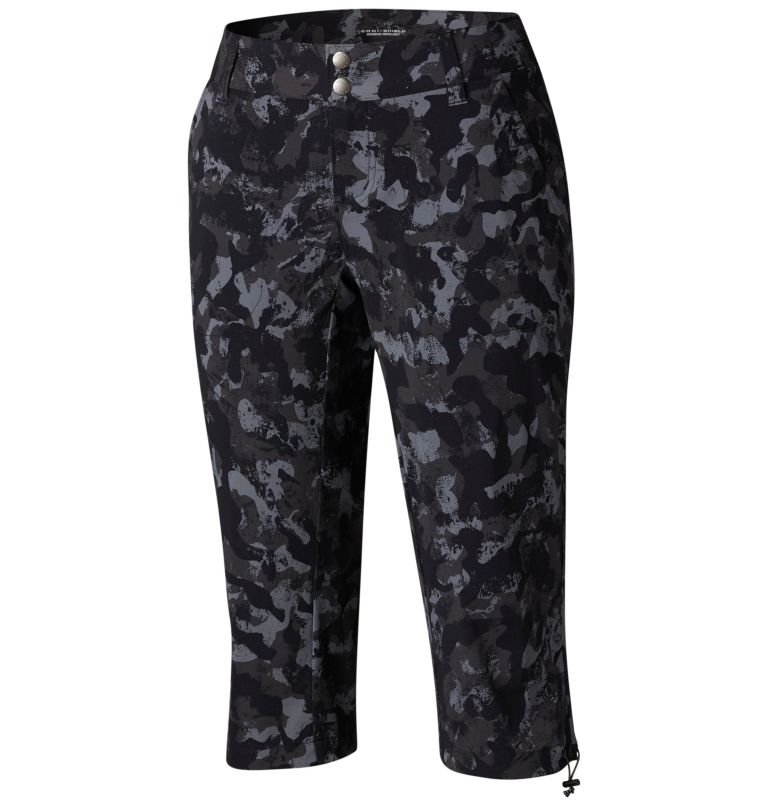 Women's Saturday Trail™ Printed Knee Pant - Plus Size Women's Saturday Trail™ Printed Knee Pant - Plus Size, front