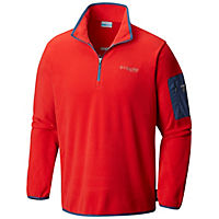 Deals on Columbia Mens Titan Pass 1.0 Half Zip Fleece Jacket
