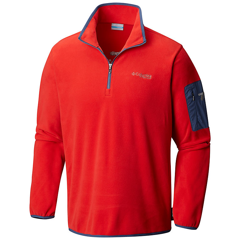 Columbia Men's Titan Pass 1.0 Half Zip Fleece